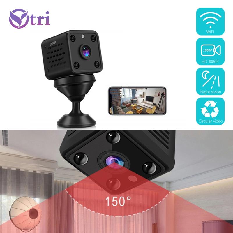 Ytri Mini Máy Ảnh, Camera An Ninh Trong Nhà 1080P HD Bé Màn Hình Thiết Bị Phát Hiện Chuyển Động Tầm Nhìn Ban Đêm Camera Ip Wifi Giám Sát Mini Video