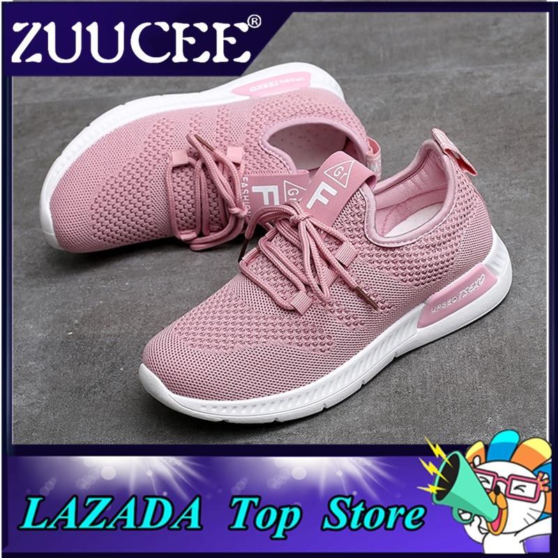 04d4d91b0f3 Zuucee Sepatu Kain Wanita Inggris Sepatu Bernapas Sepatu Olahraga   Pengiriman Gratis