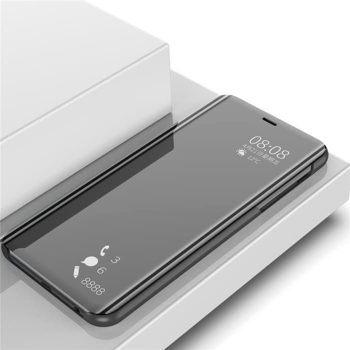 Flip Case OPPO F 11 Cover Stand F11 2019 Mirror Standing Clear S View Flip Wallet Autolock OPPO F11