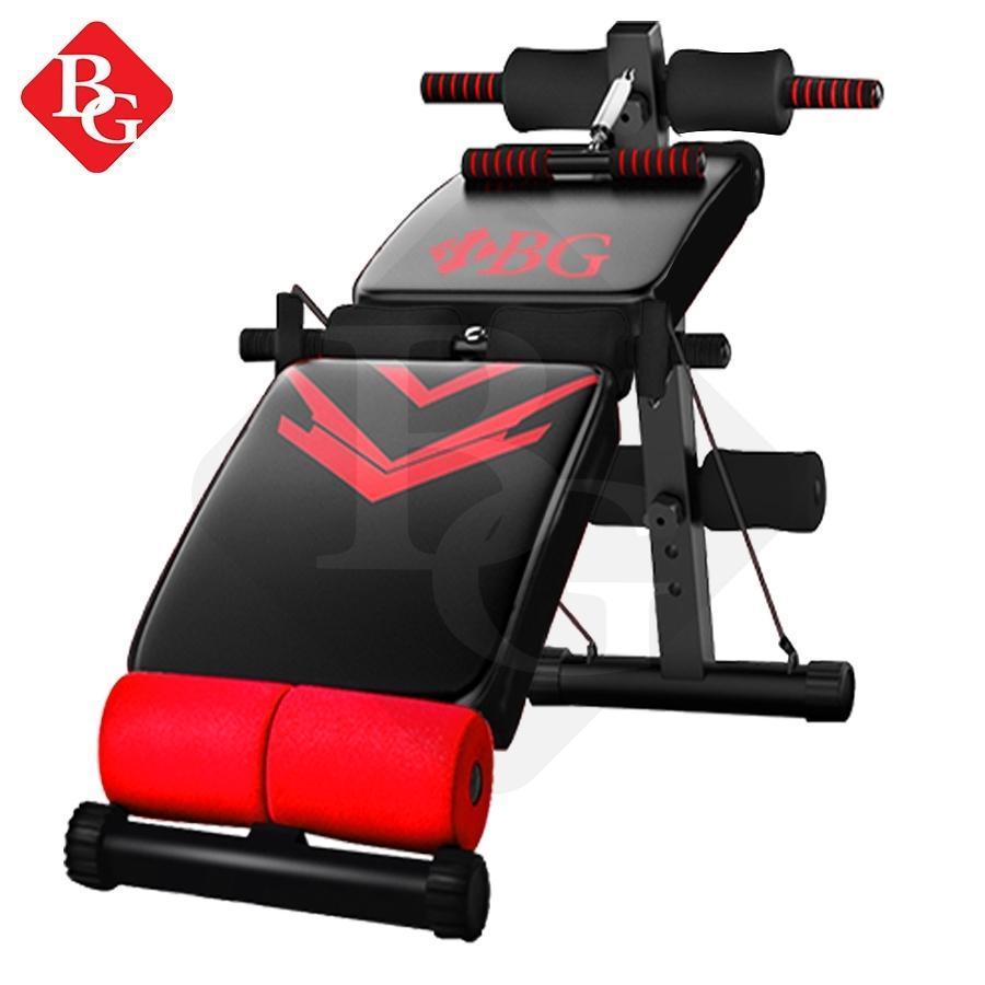 Bg Sport Sit Up Board Model 118(red)-Alat Bantu Sit Up By Bg Sports