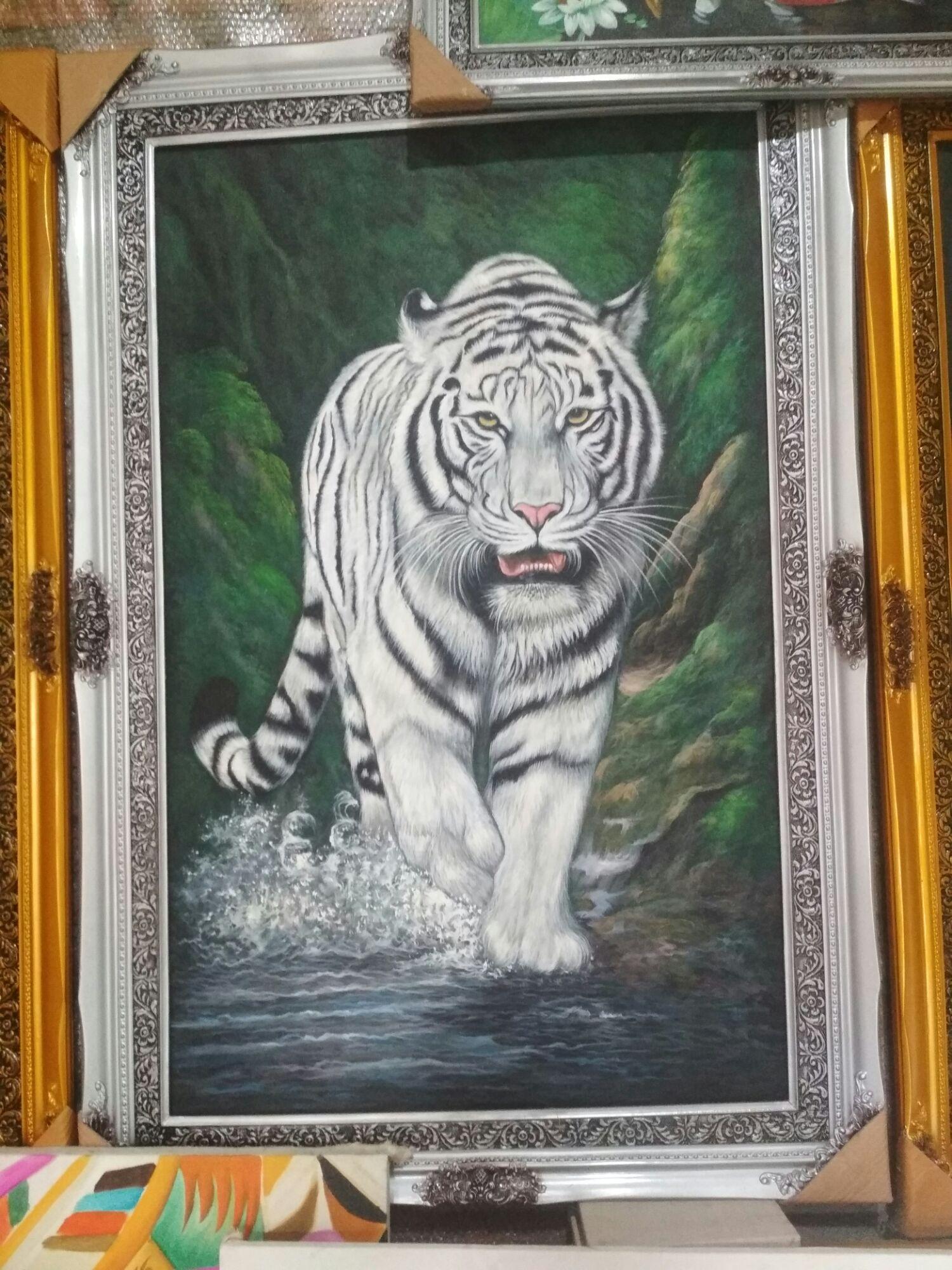 Jual lukisan harimau Terbaru   Lazada.co.id
