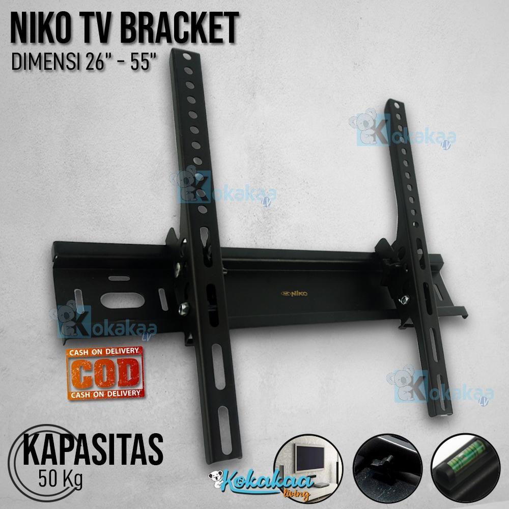 Niko Bracket TV Universal LED / LCD / Plasma NK TB2655X 26 - 55 Adjustable Flexible