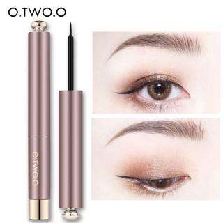 O.TWO.O Eyeliner Cair Ultra Hitam Anti Air Mudah Digunakan Eyeliner Pensil Kosmetik Makeup thumbnail