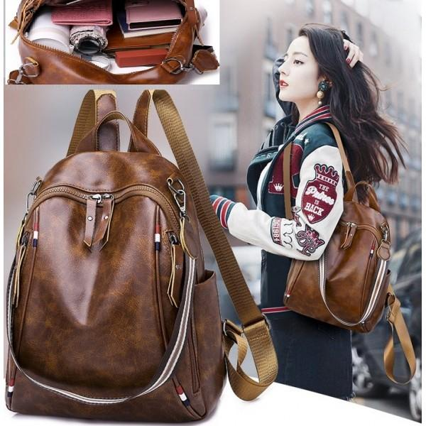 TAS FASHION KOREA STYLE MODEL TERBARU+BEST SELLER QQ811305-BAG RANSEL +  JINJING TAS 4bd999031c