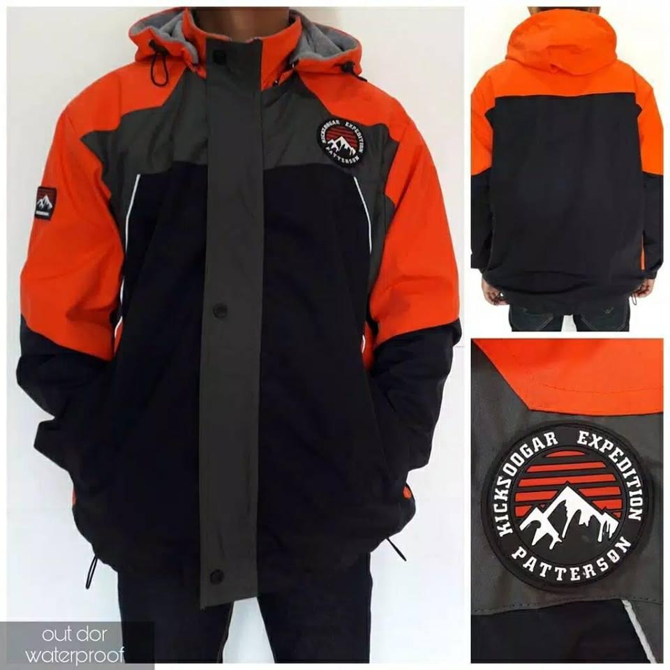 Jaket gunung motor pria anti air outwear kicksogar 3c3433f5e5