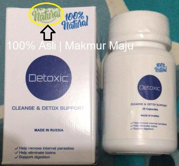 Detoxic Cleanse & Detox Support Original Obat Herbal Membantu Menghilangkan semua parasit dalam tubuh