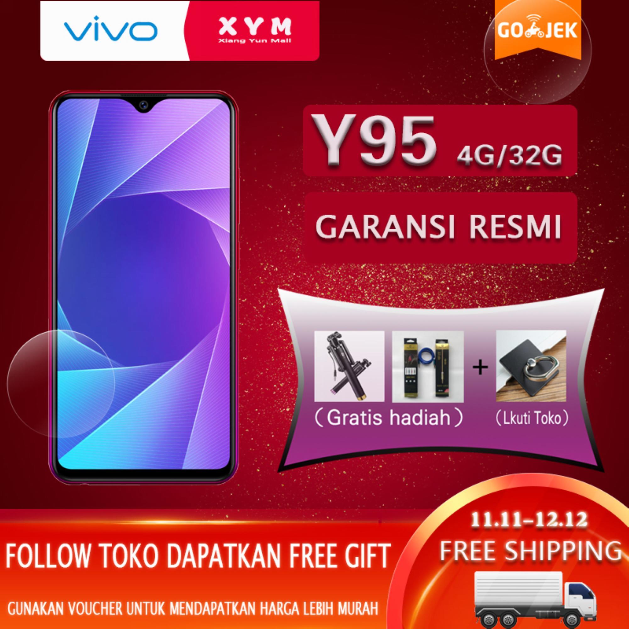 Handphone Smartphone Vivo Terbaru V5 Plus 64 Gb Edition Garansi Resmi 1 Tahun Y95 4gb 32gb Halo Fullview Display 4030mah Battery