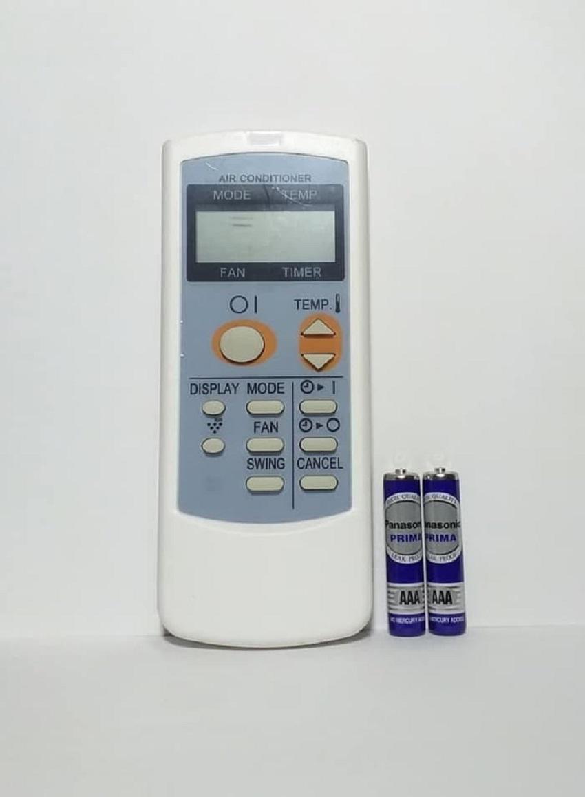 Sharp Remote Control AC - Free 2 Pcs Baterai