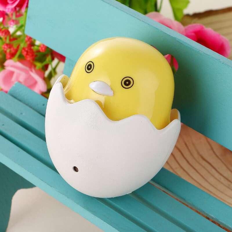 DUNIA - PROMO TERMURAH !!! Lampu Tidur Malam Egg Telur Ayam bebek Lampu Kamar Anak - Lampu Tidur LED Sensor Cahaya Hemat Energi (COD)