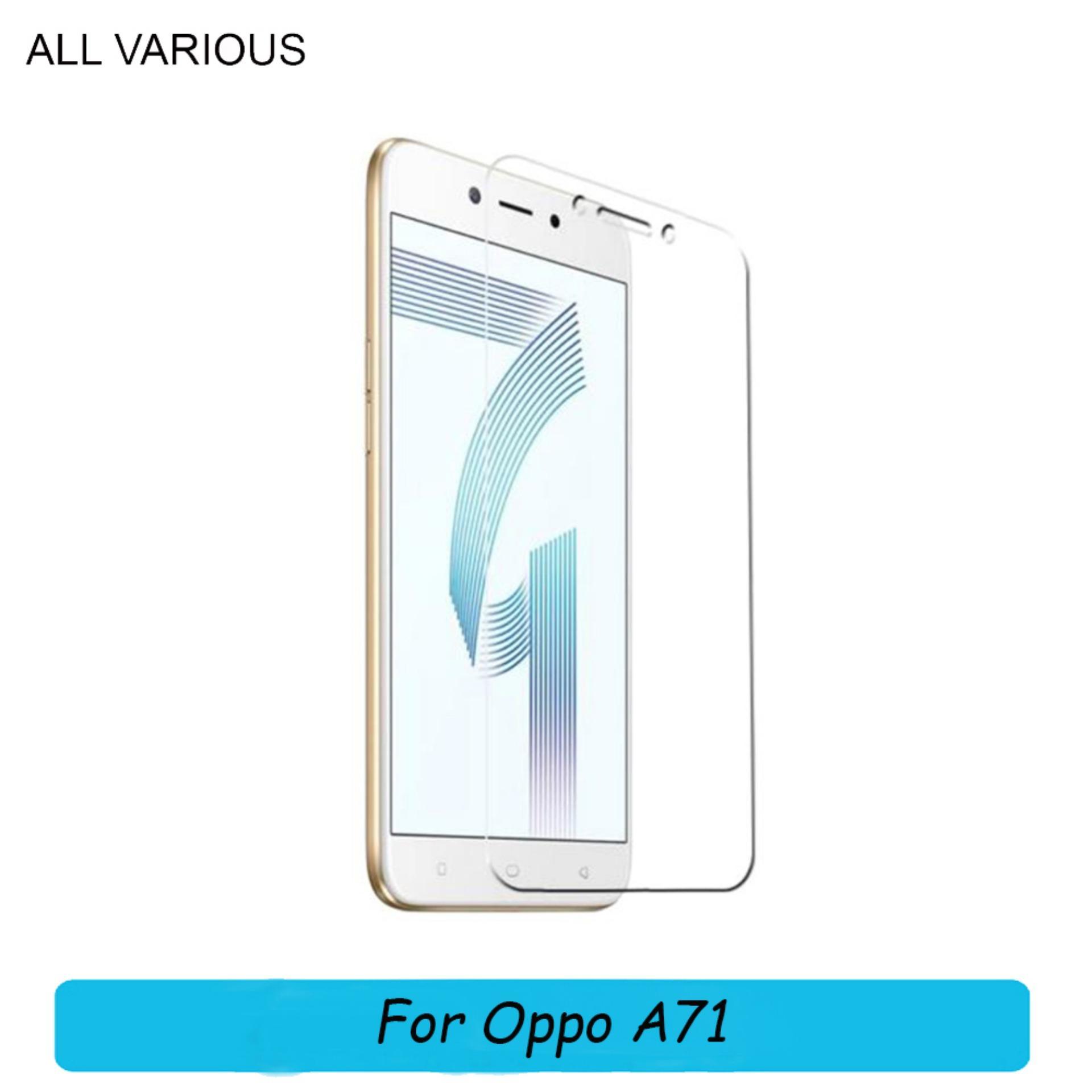 Oppo A71 Anti Gores Kaca / Tempered Glass Kaca Bening ALL VARIOUS
