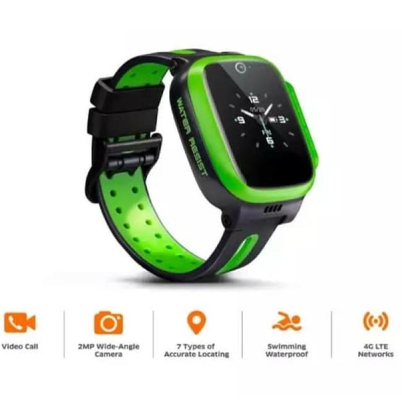 IMOO WATCH PHONE Z2 4G LTE SMARTWATCH VIDEO CALL CAMERA FOTO 2MP GPS POSITIONING BATTERY LONG LIFE 680MAH JAM TANGAN PINTAR ANAK GARANSI RESMI