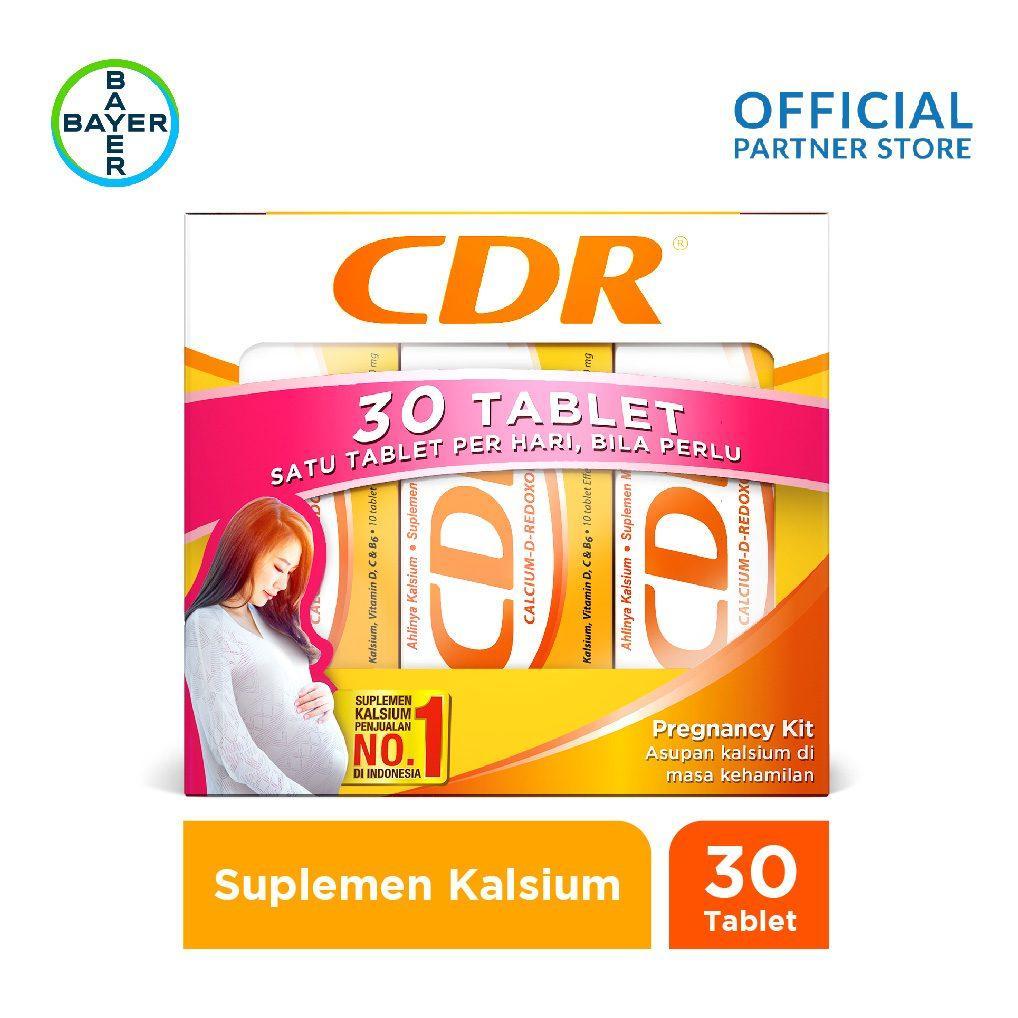 Pregnancy Pack (CDR Rasa Jeruk 10 Tablet x 3 Unit) 175b0fa856