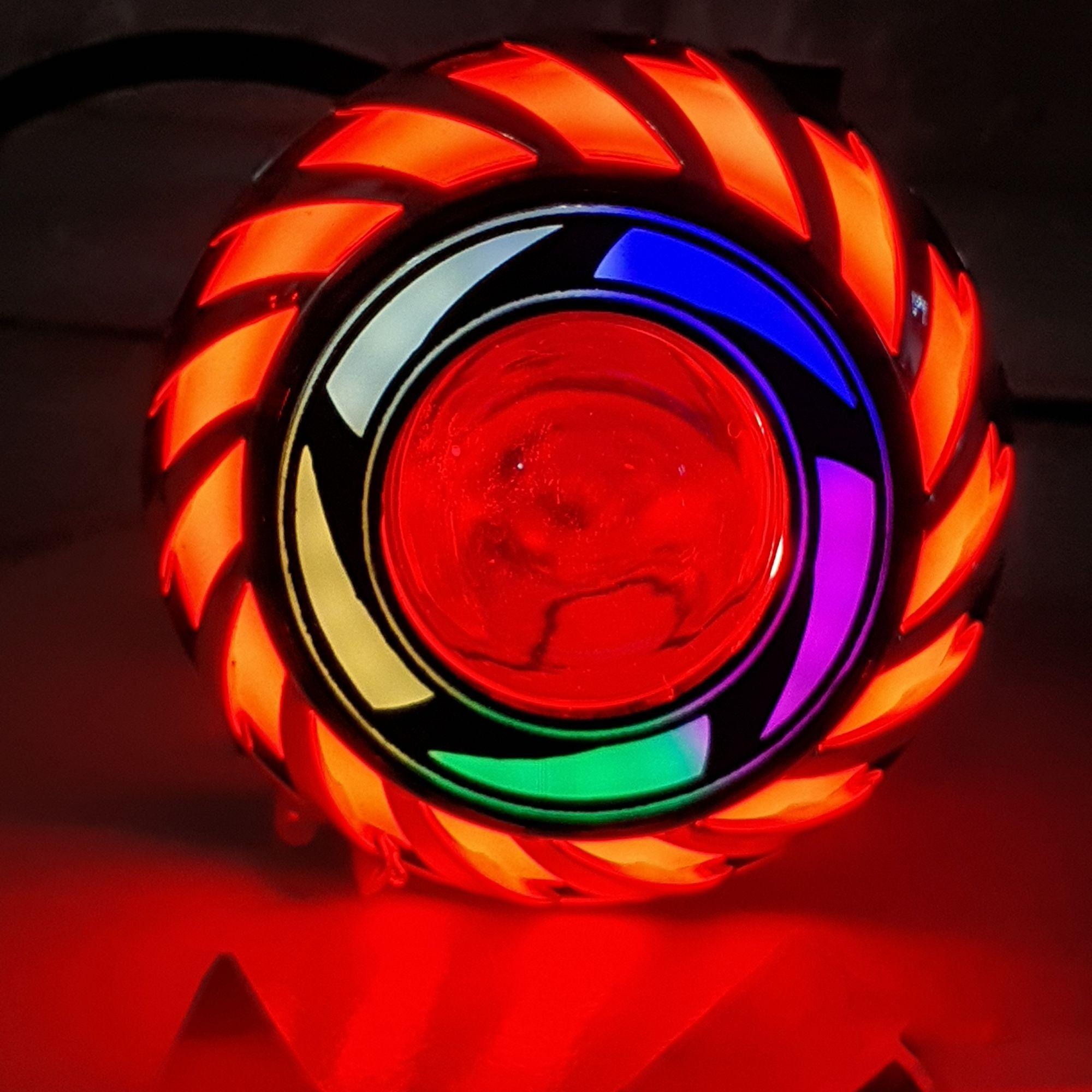 LAMPU DEPAN LED PROJIE MINI MODEL KIPAS