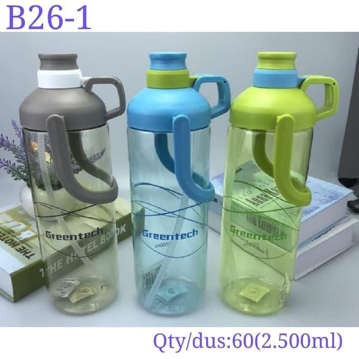 Botol Minum Olahraga GREENTECH B26-1 2500ML Sport Watter Bottle GREENTECH 2,5L