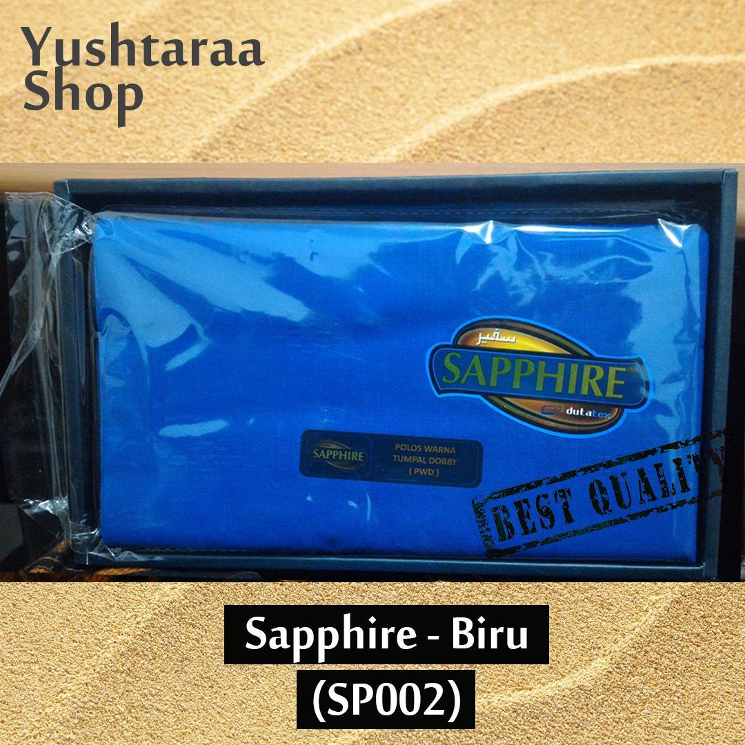 Sarung Sapphire Warna Biru Pria Muslim