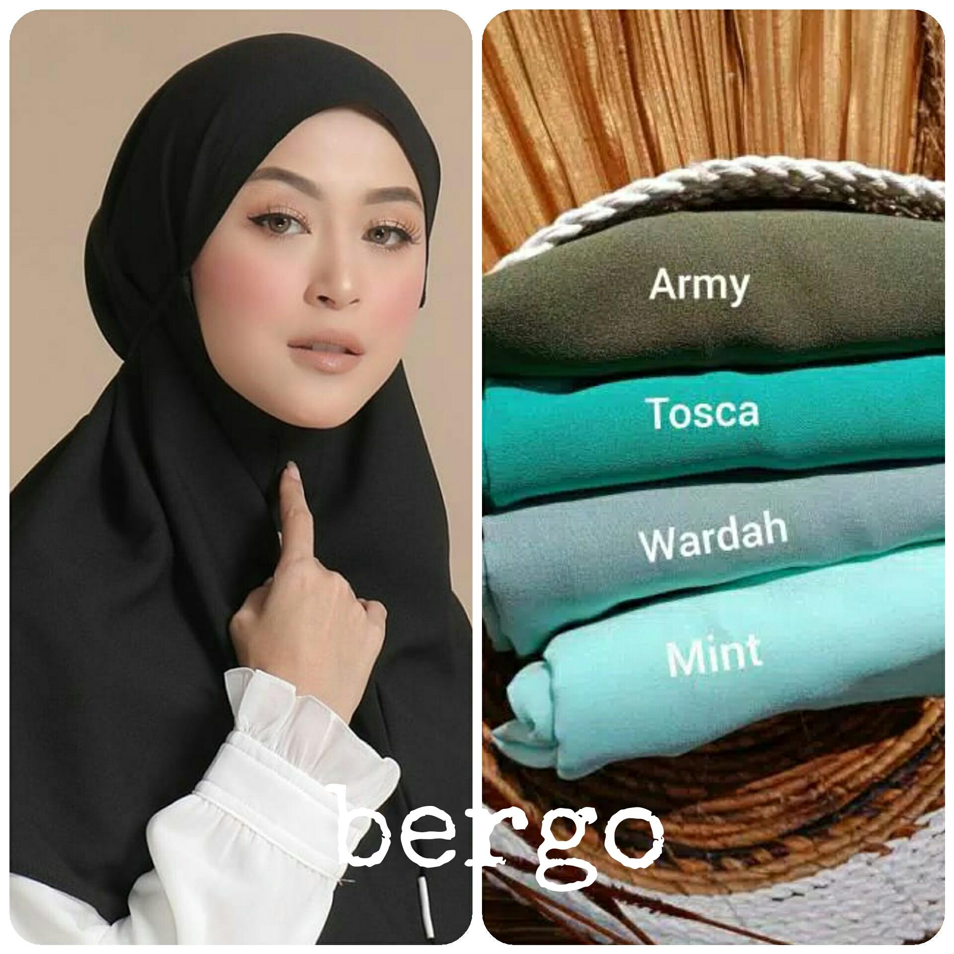Hijab Bergo Maryam Instan Membeli Jualan Online Hijab Dengan Harga Murah Lazada Indonesia