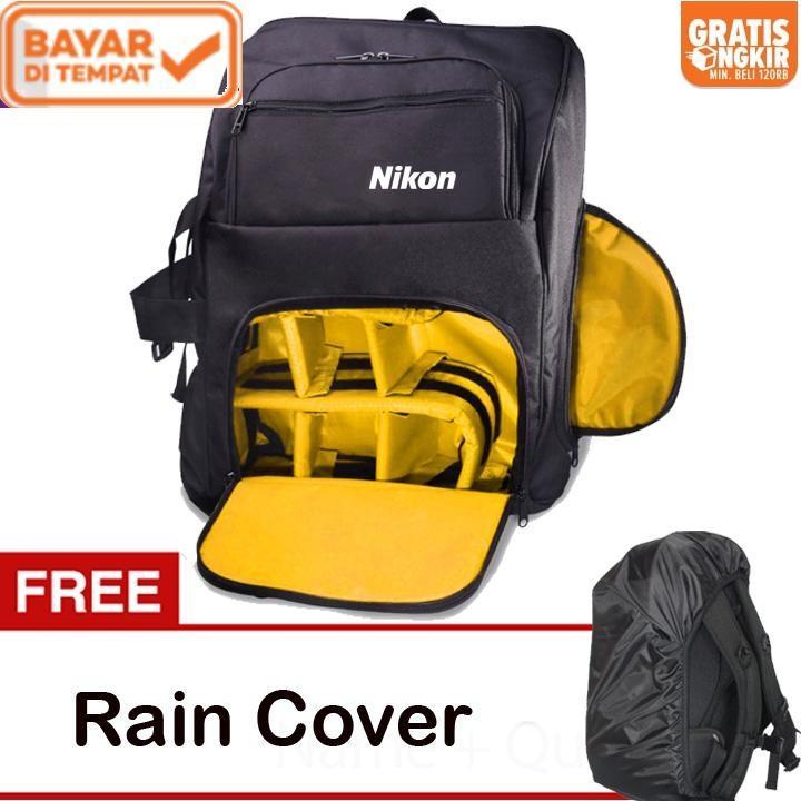 Nikon Tas Kamera DSLR Mirrorless Ransel Kode G + Free Rain Cover