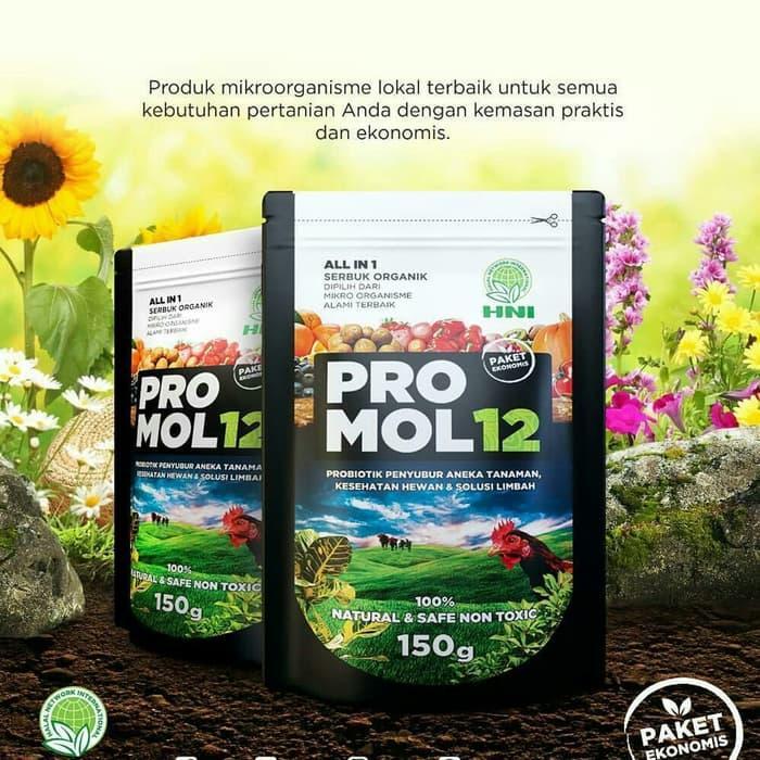 PROMO Promol 12 probiotik serba guna pupuk organik tanaman - GOXvPNvb