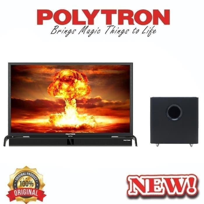 POLYTRON CINEMAX SOUNBAR LED TV 39 TV-PLD 40B150 - GOSEND/GRAB