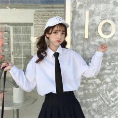 Áo sơ mi trắng phong cách học sinh siêu cute