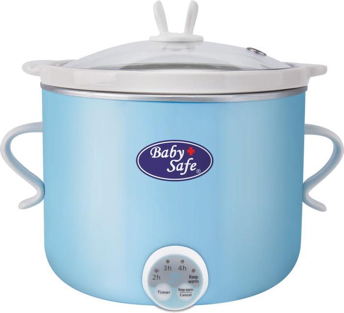 Baby Safe Slow Cooker 0,8 liter Timer LB007 Slow Cooker Murah