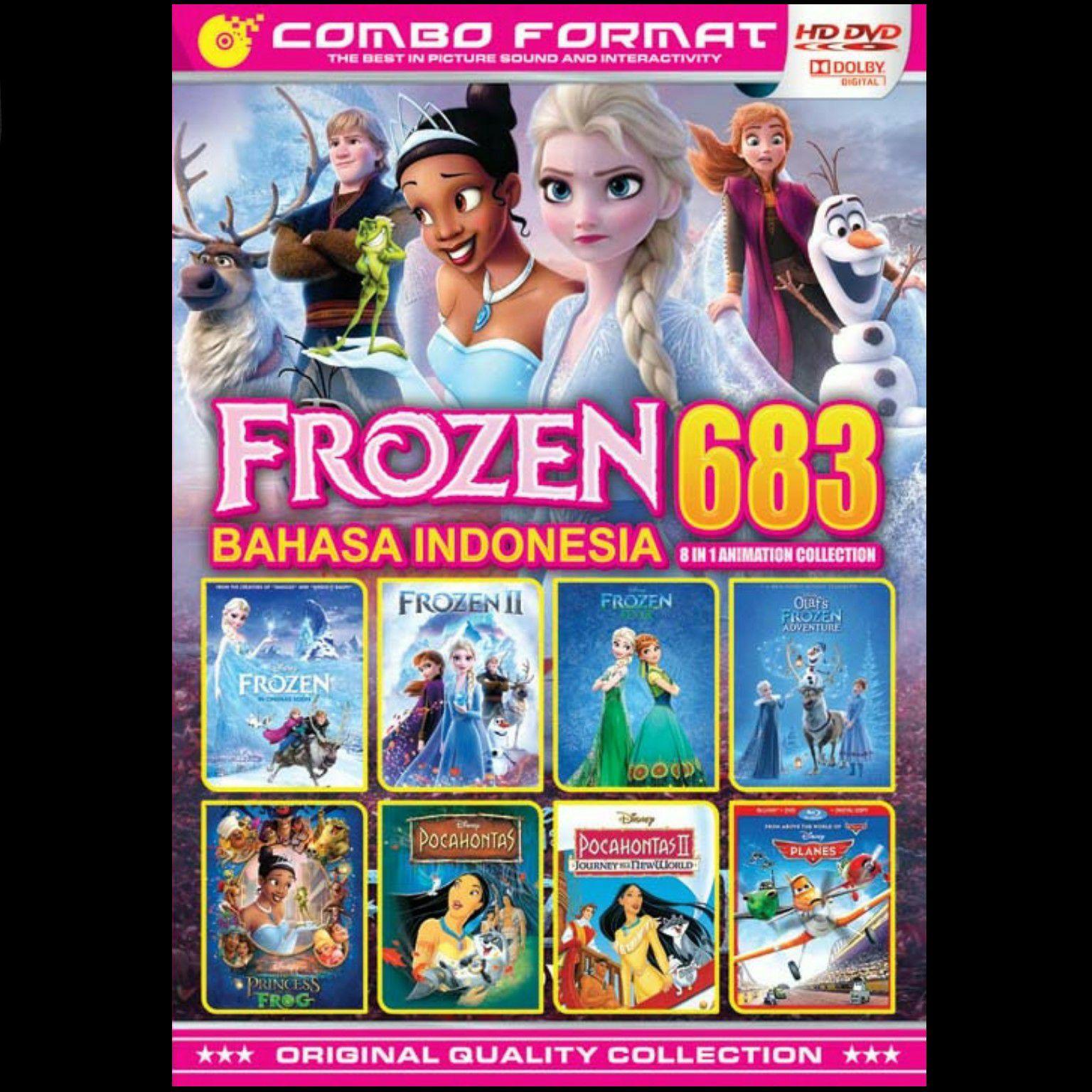 Kaset Dvd Film Kartun Movie Collection Frozen 683 Dubing Bahasa Indonesia Lazada Indonesia