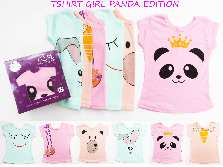 "Kazel Tshirt Girl ""Panda"" Edition"