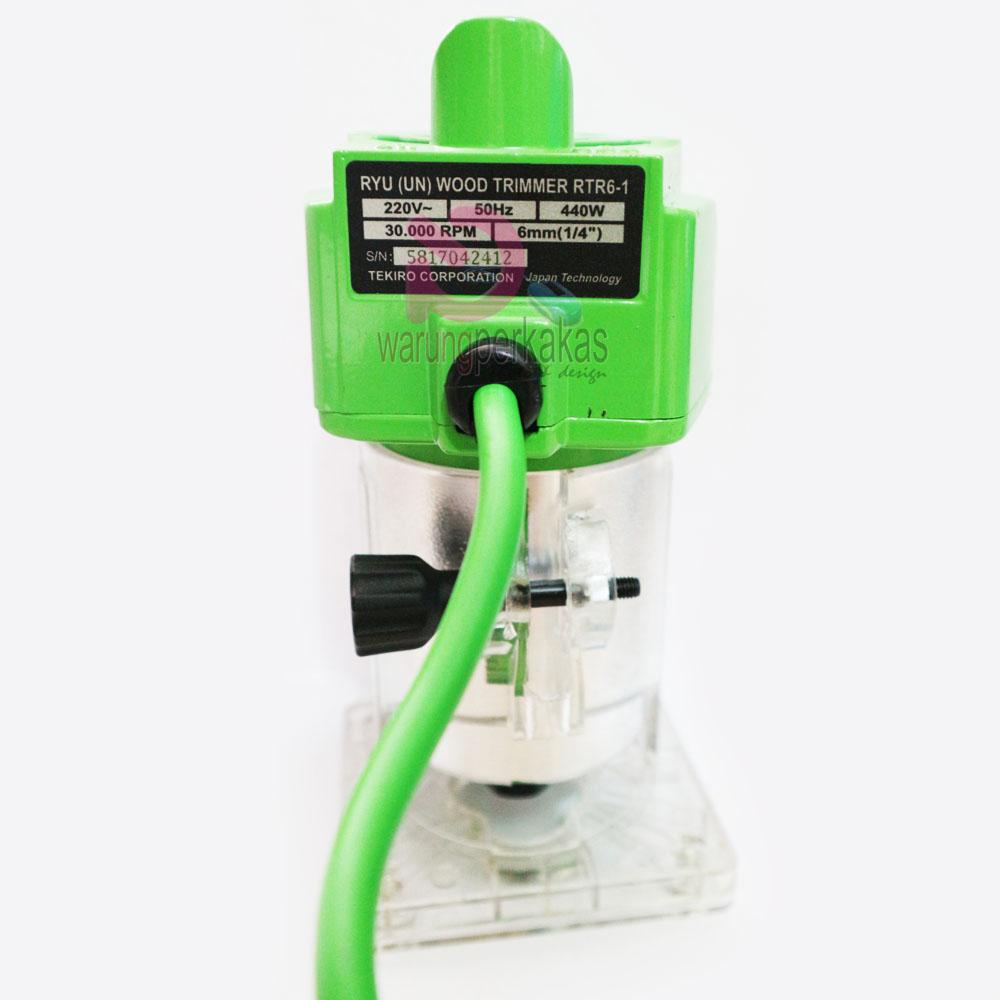 Ryu Wood Trimmer - Mini Power Router RTR 6-1