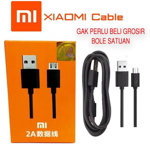 TERMURAH Kabel Data Xiaomi 2A - Charger Cable Data ORI Xiomi For Redmi Series Micro Usb 1 2 3 4 4x Prime 5a 5
