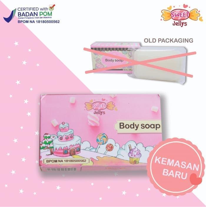 BODY SOAP JELLY / SABUN PURE SOAP BPOM