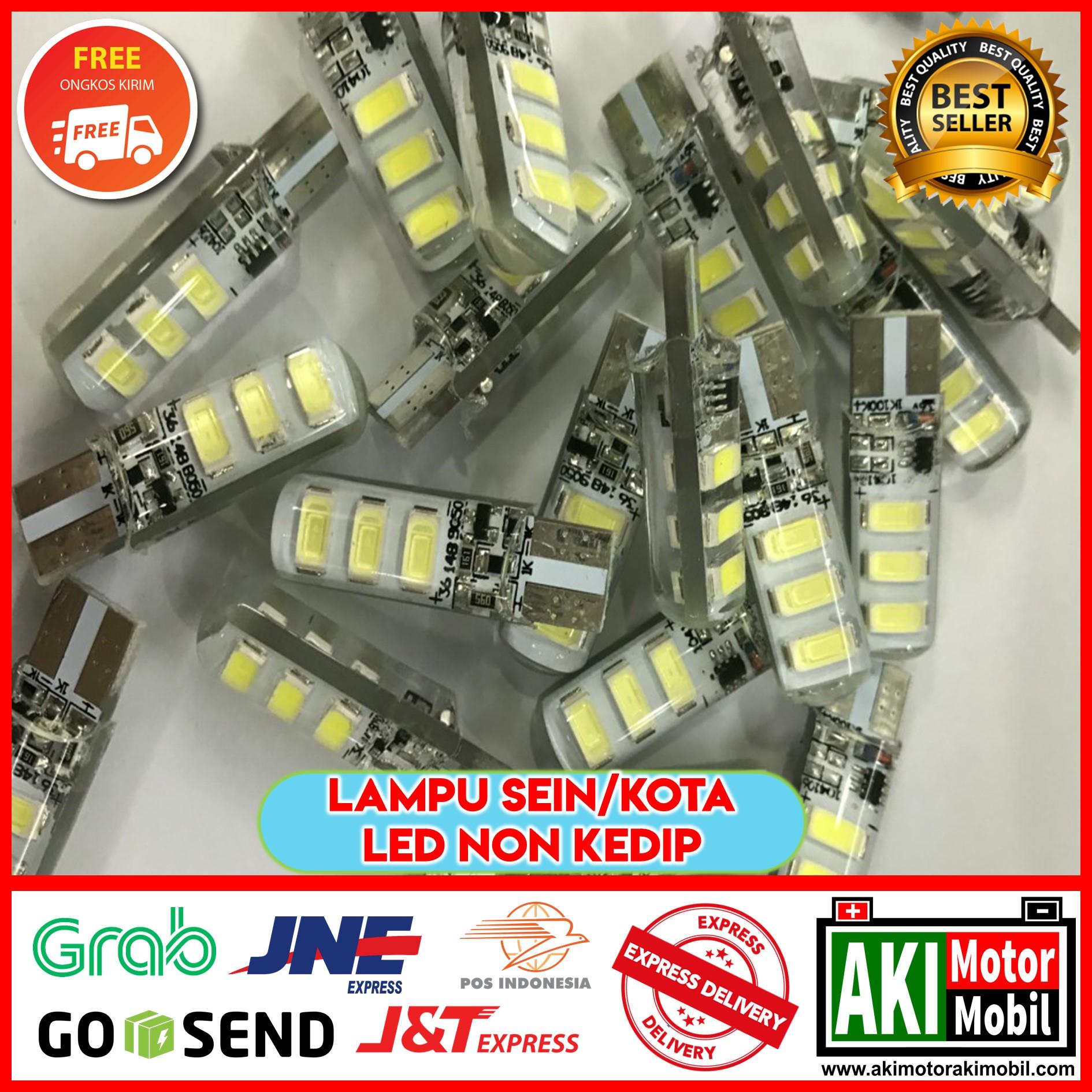 BEST SELLER - LAMPU SENJA LED NON REMOTE T10 RGB KEDIP - STROBO - LAMPU SEIN SIGN SEN / SEPASANG LAMPU LED T10 MOBIL MOTOR RGB NON REMOTE 16 WARNA / LAMPU SEN SENJA LED RGB T10 5050 SMD WARNA NON REMOT CONTROL UNIVERSAL MOTOR MOBIL