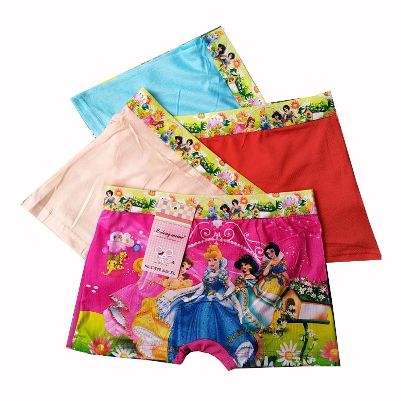 6 Pcs Boxer Anak - Celana Dalam Anak Perempuan - Motif Random By Nimari Underwear.