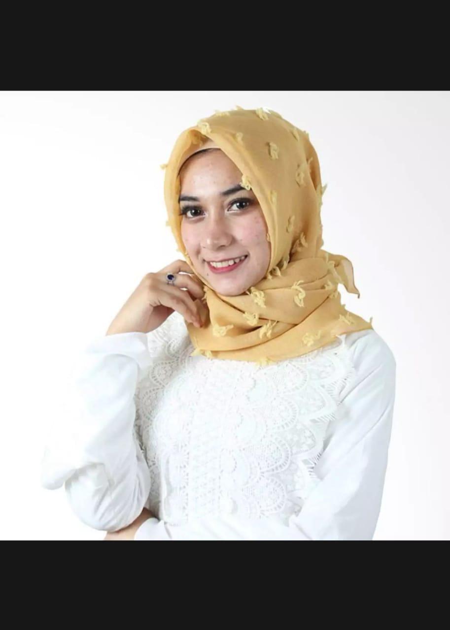 Hijab Segiempat Linen Rubiah Jilbab Khimar MURAH MERIAH HARGA GROSIR