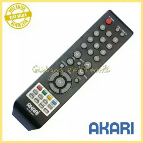 Remote TV LED AKARI RC-9914ID