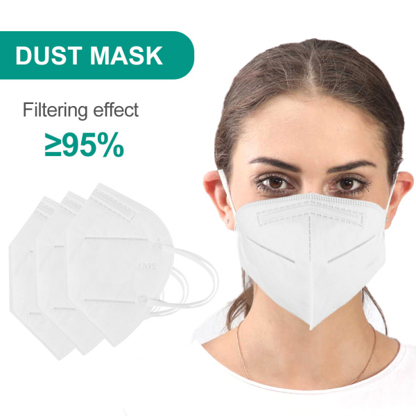 JosheLife Face Cover KN95 Anti-fog Dust-proof Breathable PM2.5 Disposable Men Women ready stock