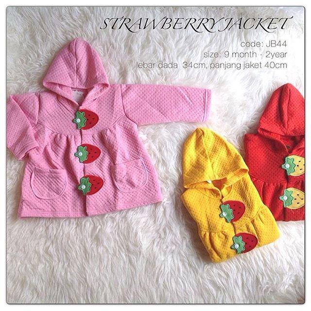 Strawberry Jacket Anak Jaket Bayi Grosir Babeebabyshop By Babee Baby Shop.