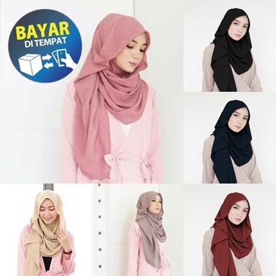 [PROMO] Jilbab / Hijab Pashmina Instan ZAFINA - Kerudung Pasmina Instant - Pashmina Instan Sala - Hijab Murah Jilbab Oshi zafina - Pastan Raisa Hijab - Model Baru Hijab Bella
