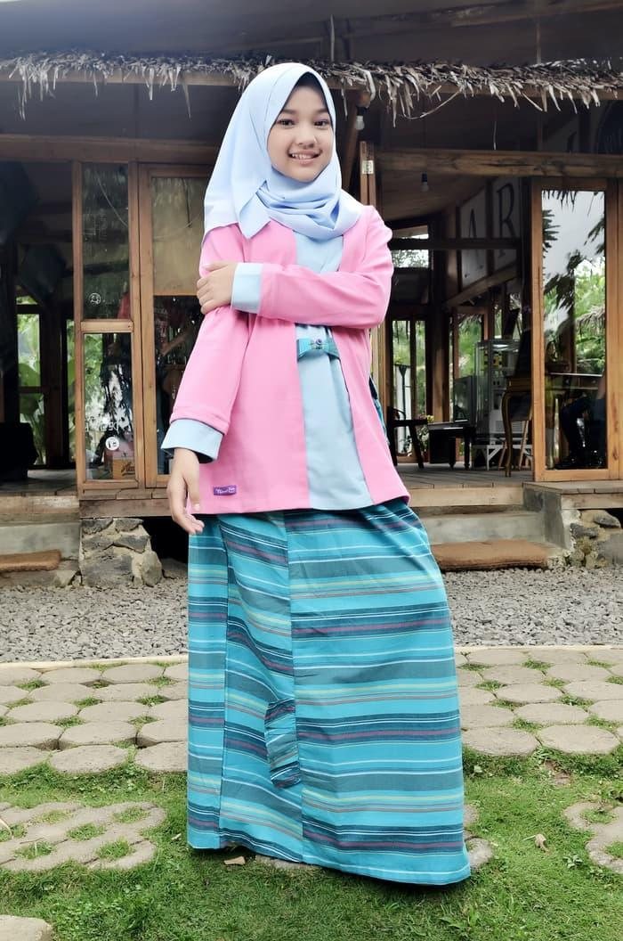 TERBATAS !!! Setelan Baju Muslim Anak/Remaja Perempuan Nibras Teen