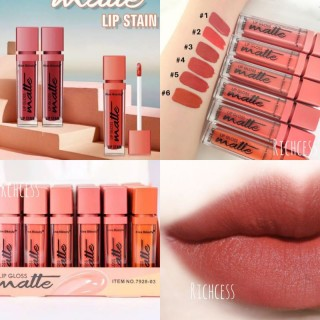 Kiss Beauty Lip Gloss Matte Lip Stain Lip Gloss Warna Nude Lip Gloss seri nude Lip Gloss warna soft best seller lip gloss termurah jihan.shop08 thumbnail