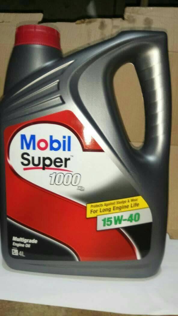 Oli Mobil Super 1000 SAE 15W-40 4X4L