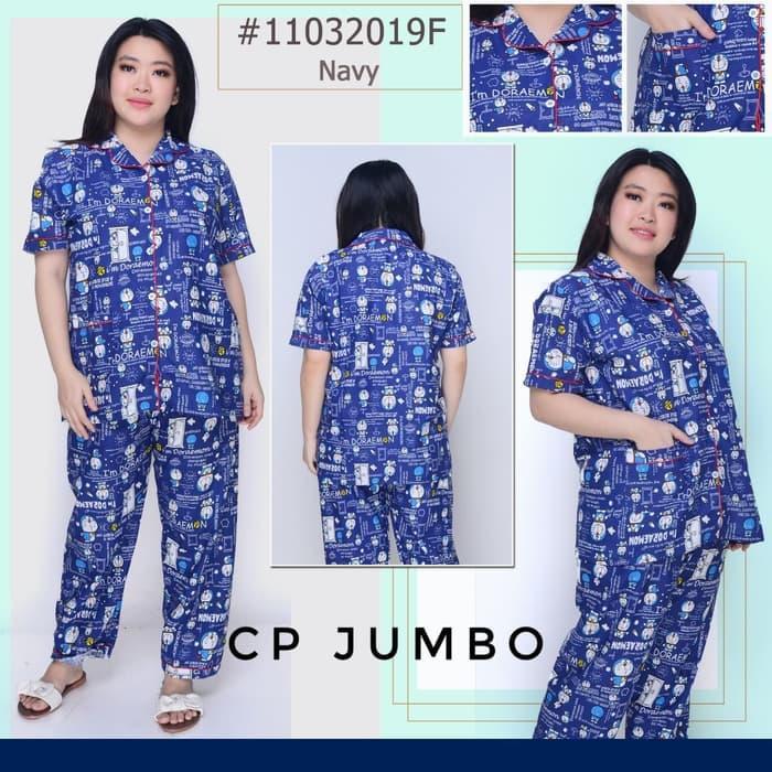 Piyama Jumbo Dewasa Doraemon Pintu CP Size XXL Ld 120cm
