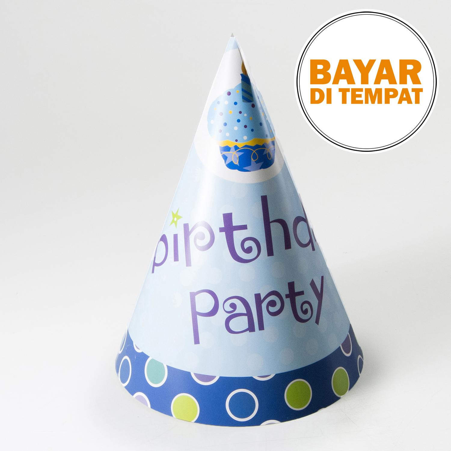 Magnolia Topi Ulang Tahun Birthday Party - Blue By Magnolia.