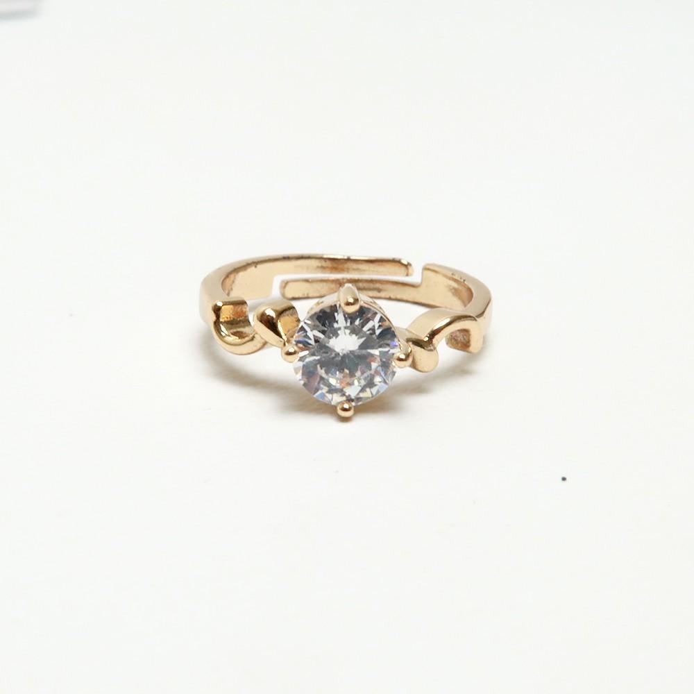 Cincin Crystal - Gold - QO88 - RTA1387