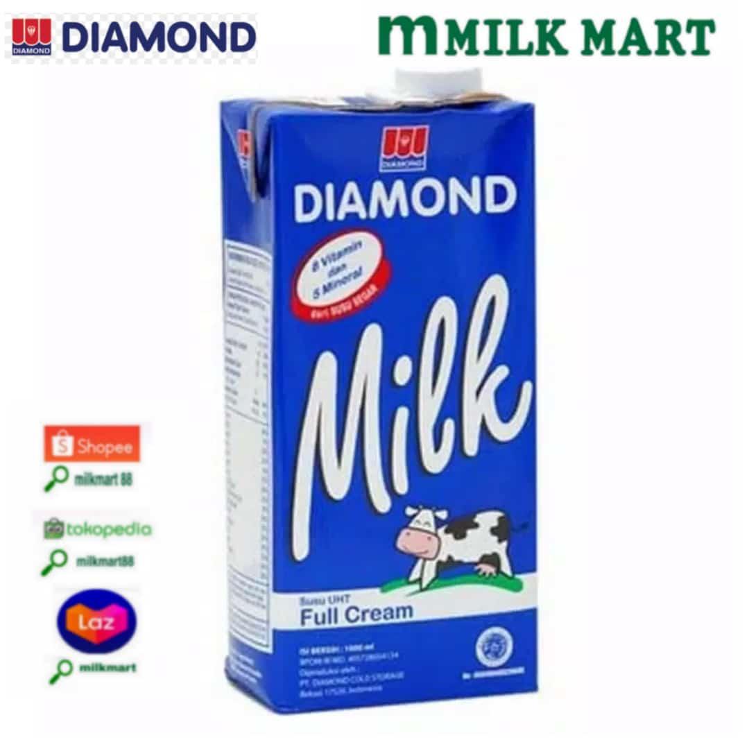 DIAMOND MILK FULL CREAM 1000ML//MILKMART