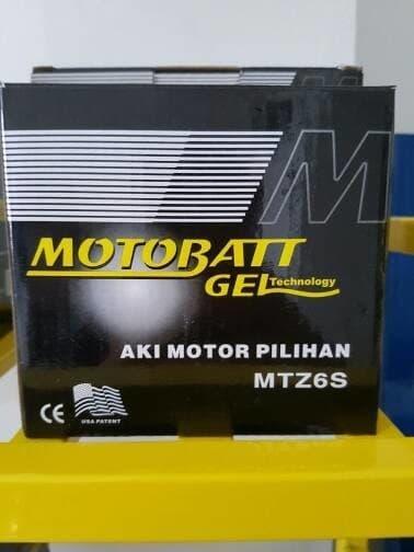 PROMO Aki kering Suzuki Satria F150 Motobatt MTZ6S TERBARU