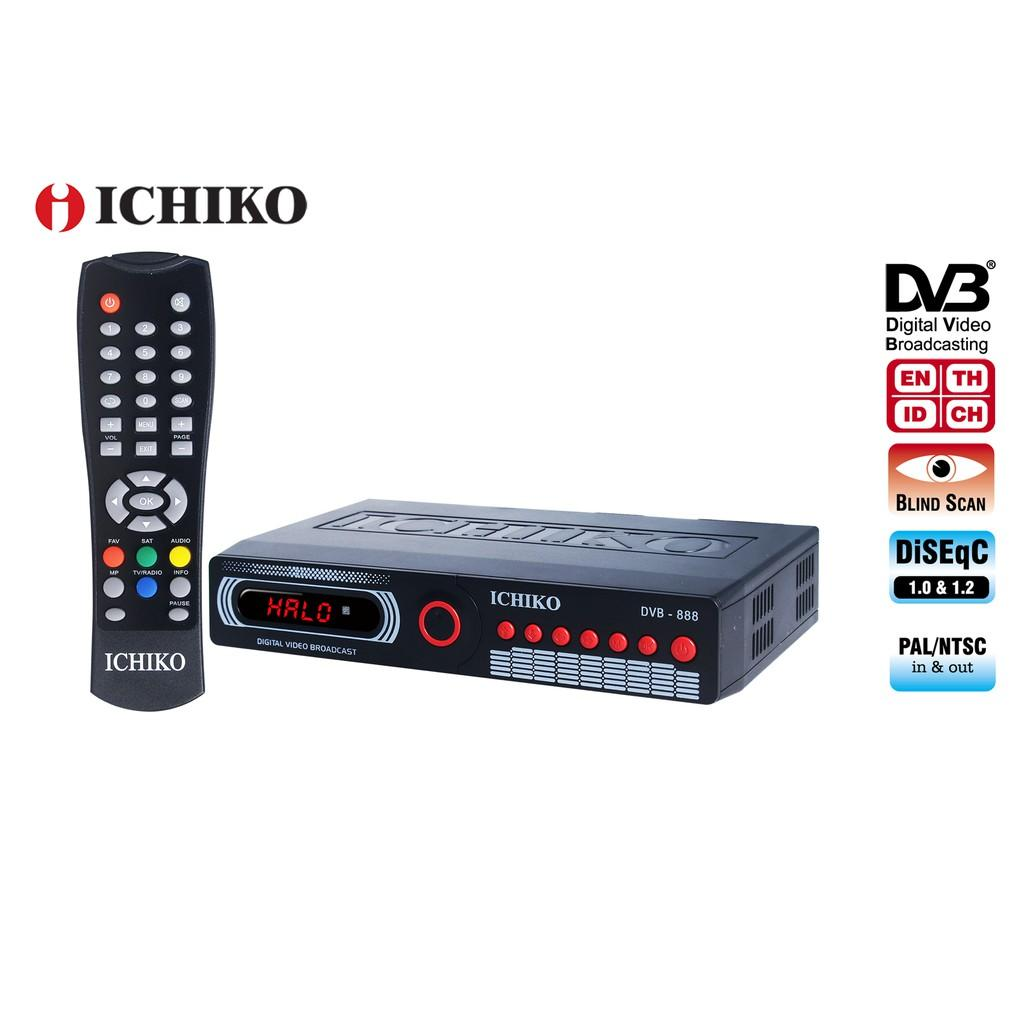 ICHIKO DVBS Model 888 C1 Satellite Parabola TV Receiver