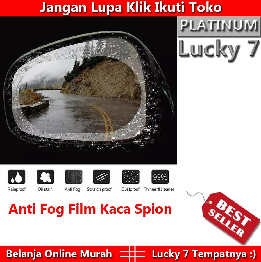 Harga Promo 1 Set Isi 2 Anti Fog Kaca Film Pelindung Spion Mobil Anti Hujan Anti Air (bentuk Bulat Atau Lonjong Tergantung Stock) By Lucky 7.