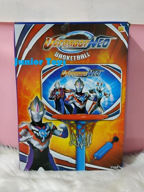 Mainan Ring Basket Ultraman Set By Junior Toys.