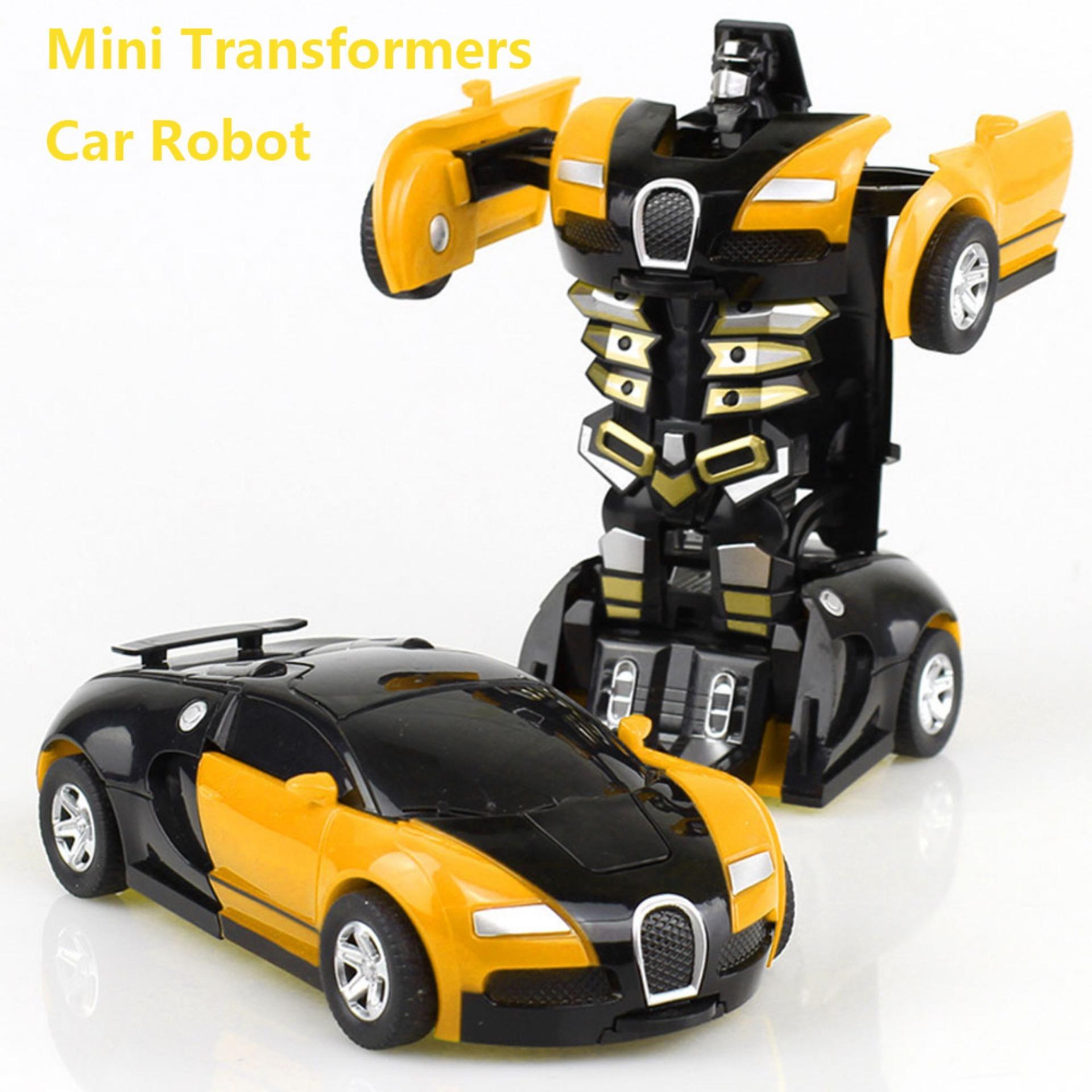Transformers Mobil, Penyelamatan Deformasi Robot Transformer Mobil One-Step Mobil Robot Kendaraan Model Aksi Angka Mainan Mengubah Mobil Untuk Anak-Anak By Kobwa Direct.