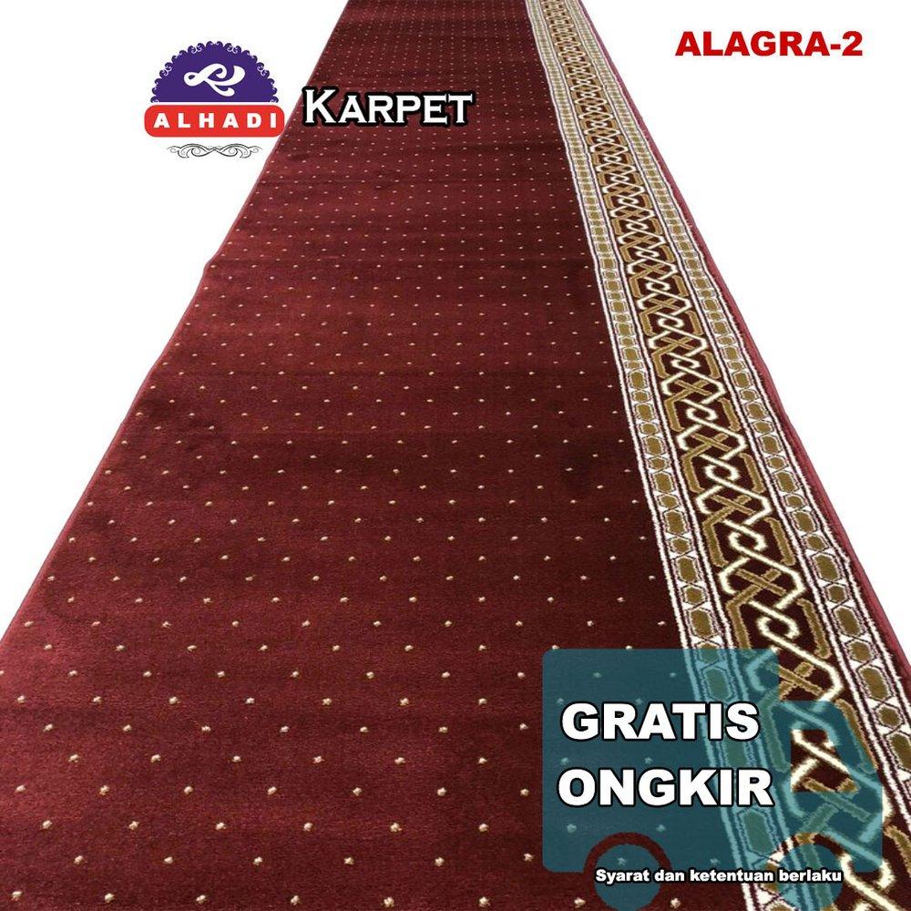 Jual Karpet Sajadah Masjid Turki Alagra 120 X 600 Cm Tebal 13 Mm Padat Lembut Dan Halus Alhadi Karpet Murah